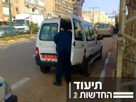 ניידת משטרה (צילום: חדשות 2)