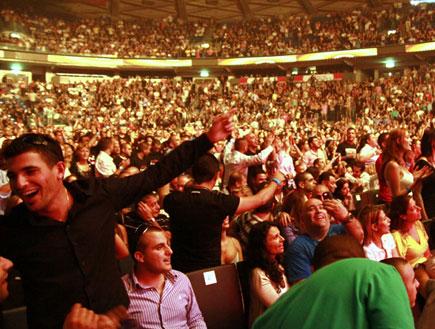 קהל, אייל גולן, נוקיה (צילום: אורית פניני)