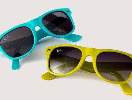 משקפי שמש לפעוטות (צילום: אופטיק סנטר)