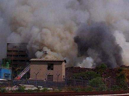 עומסי תנועה נוצרו בעקבות העשן, ארכיון (צילום: חדשות 2)
