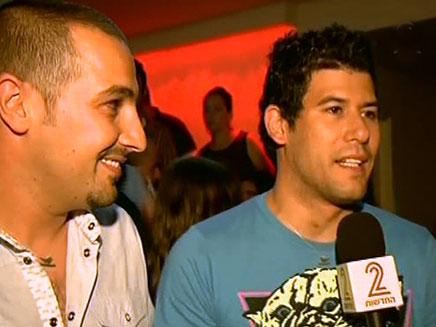 יוצרי ושחקני הסדרה עספור (צילום: חדשות 2)