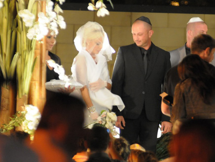 מורן אייזנשטיין חתונה (צילום: אלעד דיין)