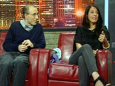 פותנה מדברת על המגזר (תמונת AVI: לילה בכיף)