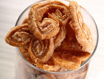 עוגיות אוזני פיל של מיקי שמו (צילום: דן פרץ)