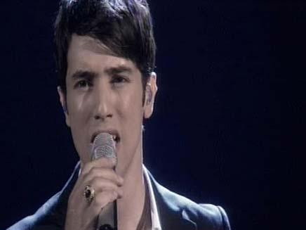 הראל סקעת בגמר האירוויזיון (צילום: חדשות 2)