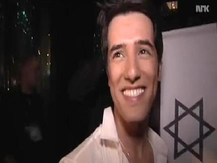 הראל סקעת לאחר חצי הגמר (צילום: חדשות 2)