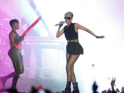 ריהאנה הופעה 30.5.2010 (צילום: אלעד דיין)