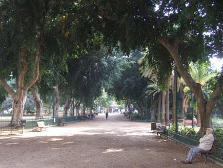 גן מאיר  על שם מאיר דיזנגוף