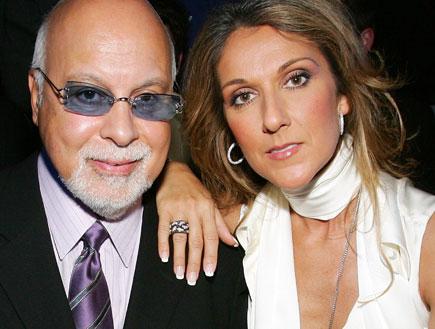 סלין דיון ובעלה (צילום: Ethan Miller, GettyImages IL)