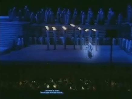 מופע הבכורה, אמש (צילום: חדשות 2)