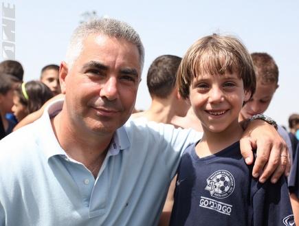 פרדי דוד והדור הצעיר (עמית מצפה) (צילום: מערכת ONE)