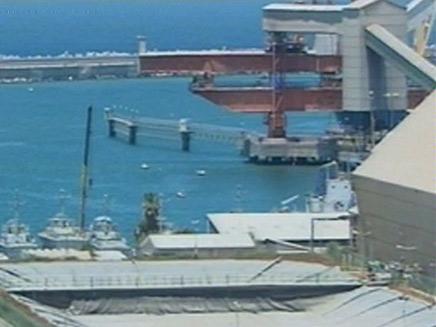 נמל פרטי יקום בישראל (צילום: חדשות 2)