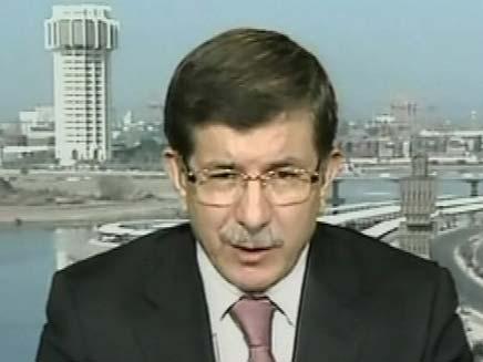 שר החוץ הטורקי בראיון, היום (צילום: חדשות 2)