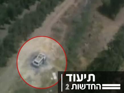הרכב השרוף של אסף. לאן הוא נעלם? (צילום: חדשות 2)