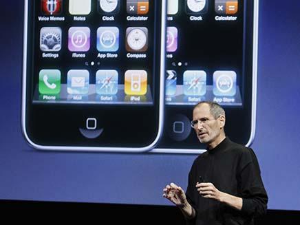 סטיב ג'וסב, אייפון (צילום: חדשות 2)