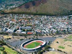 אצטדיון המונדיאל בדרום אפריקה (צילום: נוגה שדמי, גלובס)