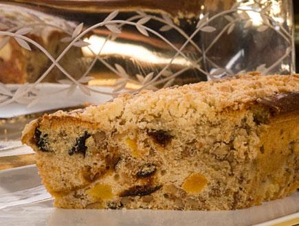 עוגת פירות יבשים וברנדי (צילום: שחר פליישמן)
