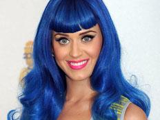 קייטי פרי בשיער כחול (צילום: Jason Merritt, GettyImages IL)