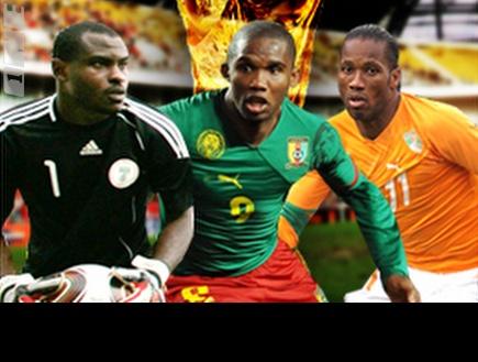 דרוגבה, אטו ואניימה. זוכה אפריקנית בגביע? (רויטרס) (צילום: מערכת ONE)
