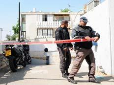 זירת הרצח באשדוד