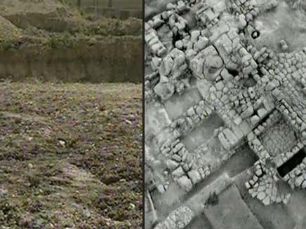 פשע ארכיאולוגי (צילום: חדשות 2)