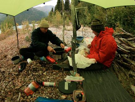 אוהל אלסקה (צילום: עופר גלמונד)