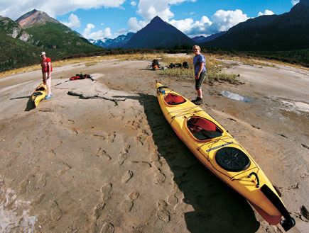 קאנו אלסקה (צילום: עופר גלמונד)