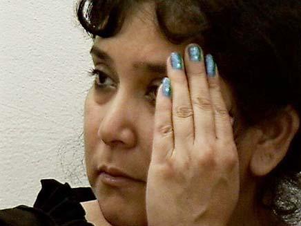 """רוצחת טלי עטר ז""""ל (צילום: חדשות 2)"""