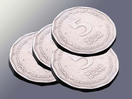 חשש ממטבעות מזויפים, אילוסטרציה (צילום: חדשות 2)