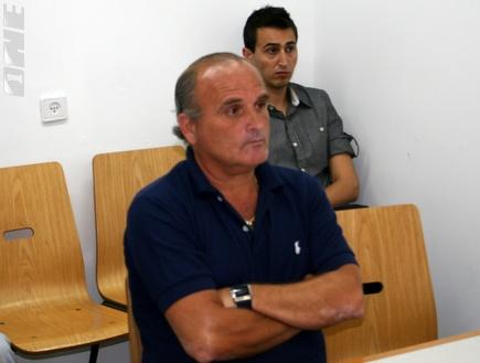 """המאמן קובה שאול בביה""""ד (רועי גלדסטון) (צילום: מערכת ONE)"""