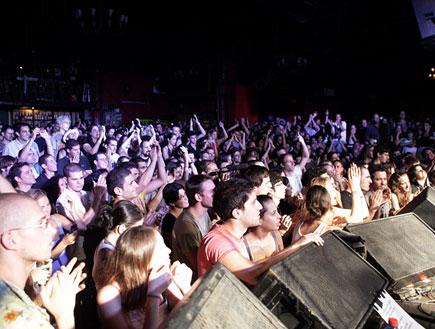 קהל, מופע מחאה (צילום: נועה מגר)