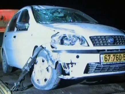 תאונת פגע וברח, ארכיון (צילום: חדשות 2)