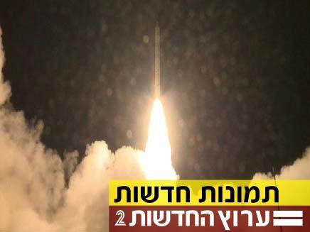צפו בשיגור ובתמונות מחדר הבקרה (צילום: חדשות 2)