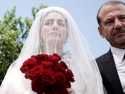 חתונה רונית אלקבץ (צילום: mako)