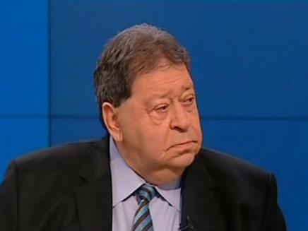 פואד בן אליעזר בפגוש את העיתונות (צילום: חדשות 2)