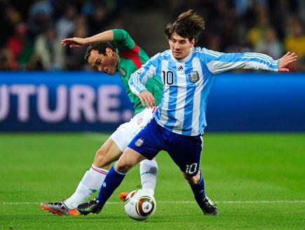ארגנטינה נגד מקסיקו (צילום: Jamie McDonald, GettyImages IL)