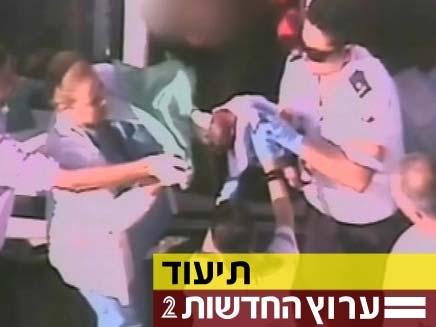 לידה מול המצלמות (צילום: חדשות 2)
