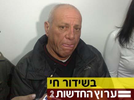 פיני כהן - מואשם בתקיפת השופטת דורית ביניש (צילום: חדשות 2)