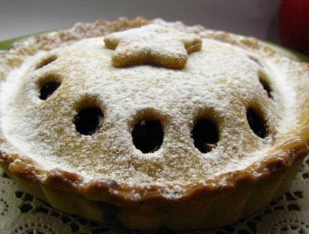 פאי תפוחים של דונה קישוט (צילום: נאוה (דונה קישוט), לאכול עם העיניים)