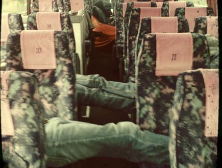 מוג'וז, אוטובוס (צילום: רועי אבידן)