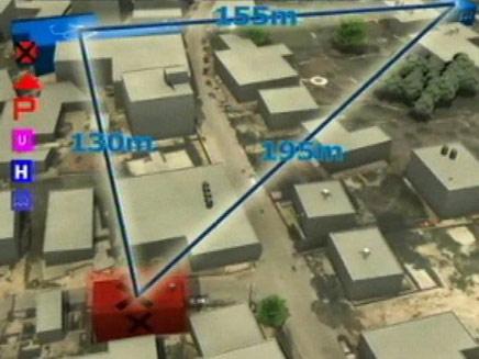 הדמייה - מוצבי החיזבאללה בלבנון (צילום: חדשות 2)
