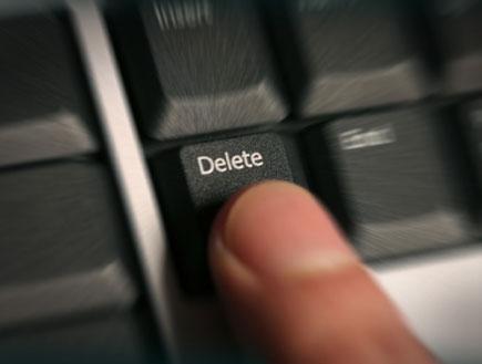 delete (צילום: Goldmund, Istock)