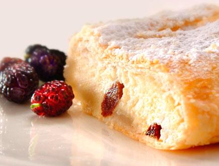 שטרודל גבינה עם צימוקים (צילום: שי אפגין,  יחסי ציבור )