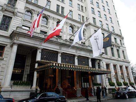 מלון פלזה בניו-יורק, פנטהאוז של יצחק תשובה שנמכר (צילום: חדשות 2)