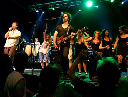 דוויזל זאפה הופעה 5 (צילום: עידו קליר)