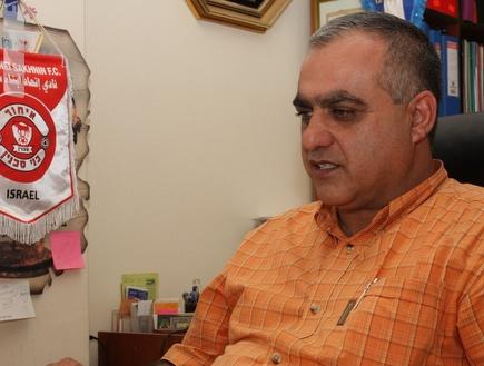 חסן אבו סאלח (עמית מצפה) (צילום: מערכת ONE)