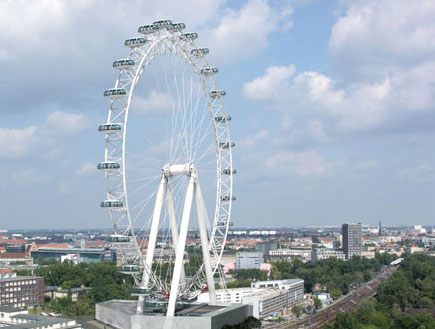 גלגל הענק של ברלין (צילום: האתר הרשמי)