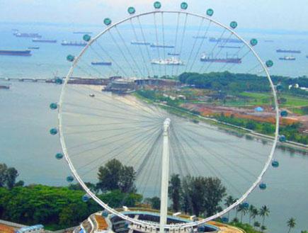 גלגל הענק של סינגפור (צילום: האתר הרשמי)