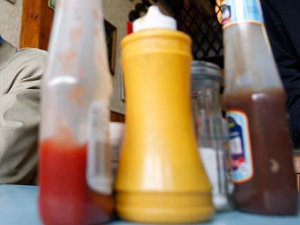 הפתעה בבקבוק הקטשופ: ג'אראס (צילום: רויטרס)