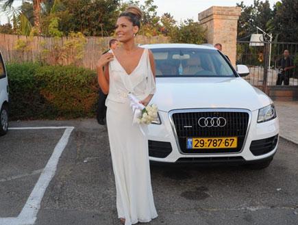 חתונה קארין מגריזו (צילום: אלעד דיין)